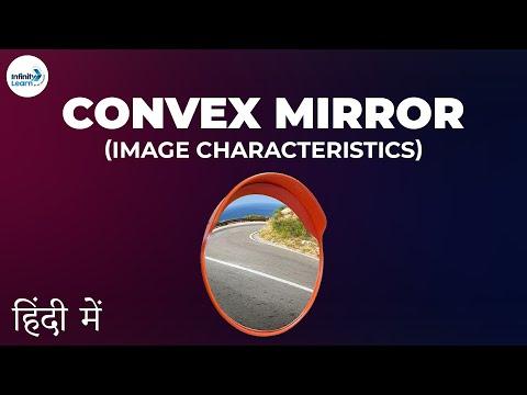 Convex Mirror - Image Characteristics - CBSE 10 - In Hindi (हिंदी में )