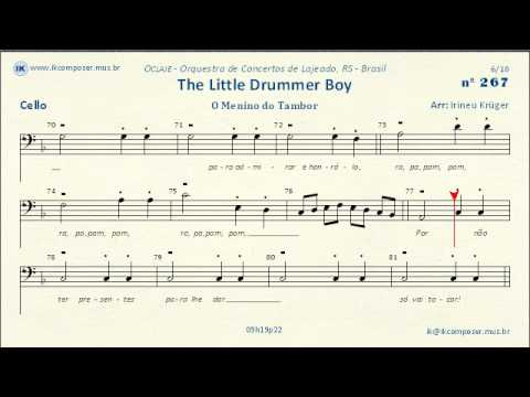 267 - The Little Drummer Boy - (Cello)