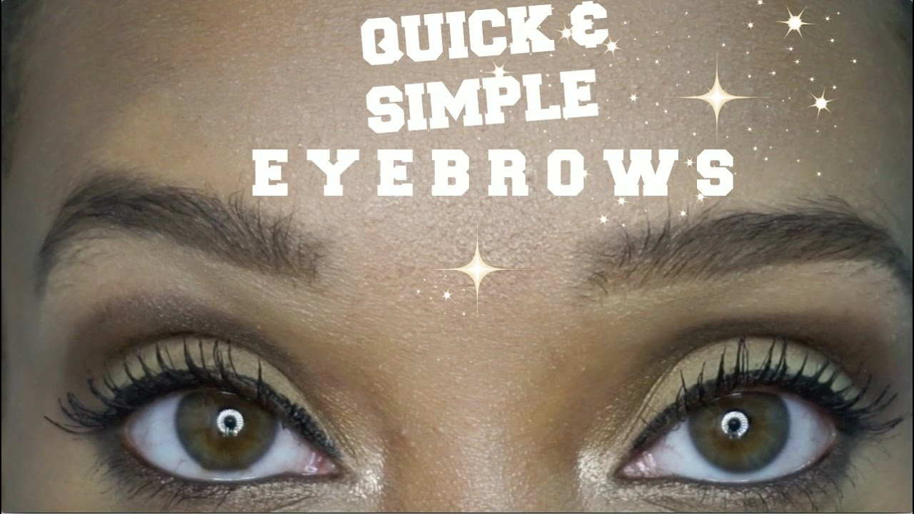 How To Draw A Natural Eyebrow Tutorial For Beginners Youtube