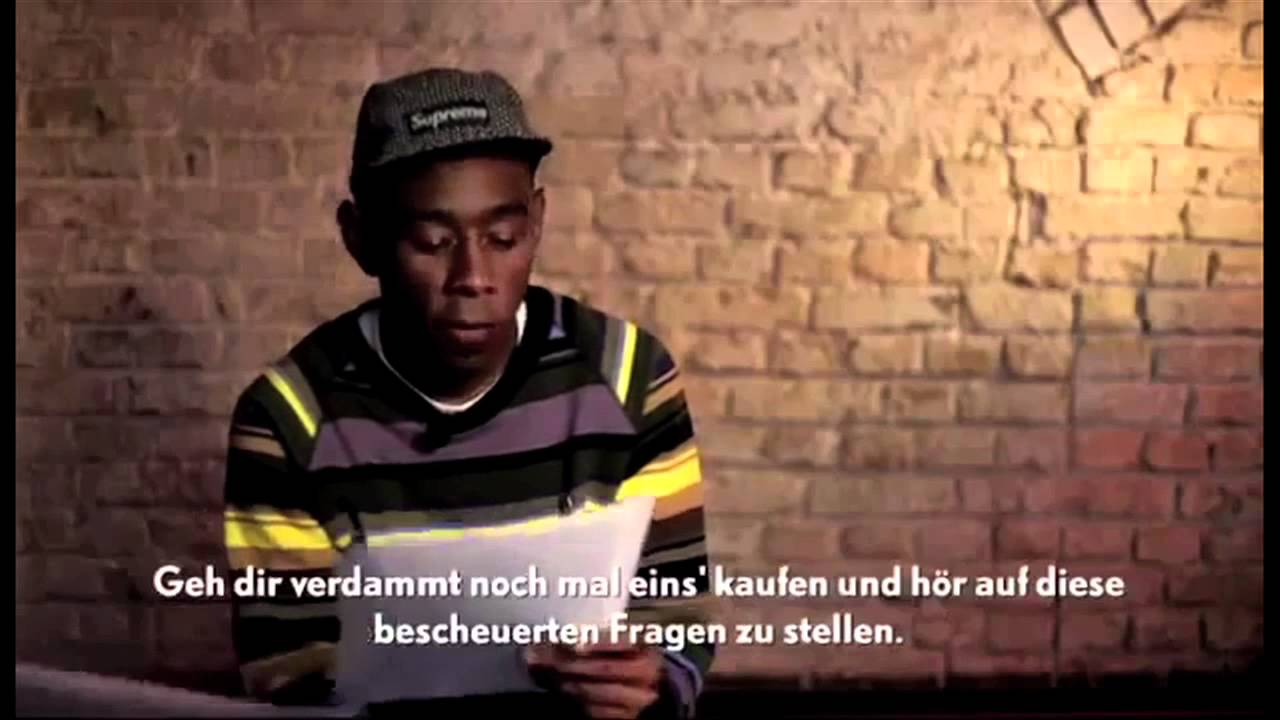 Tyler The Creator Quotes Tyler The Creator Best Moments Part 2 More Funny  Youtube