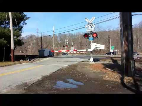 The Commerce Street rail crossing in Valhalla as it looked on Tuesday facing the Taconic State Parkway. State Assemblyman Tom Abinanti, D-Pleasantville, proposed legislation that would require the state Department of Transportation to study safety.