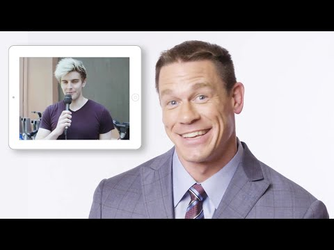 John Cena Answers Questions from Random People | Vanity Fair