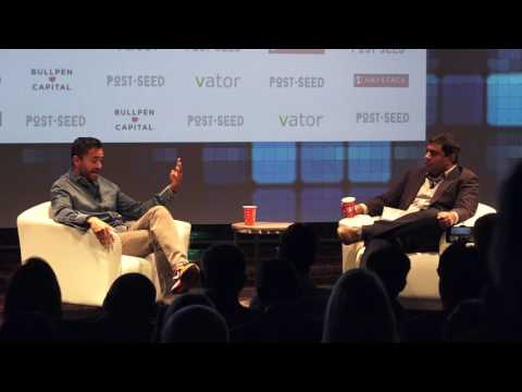 """Disrupting the Venture Ecosystem"" - Chamath Palihapitiya (Founder & CEO, Social Capital LP)"