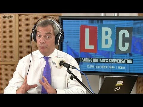 The Nigel Farage Show: Is May dealing with a disunited Europe? LBC - 22nd March 2018