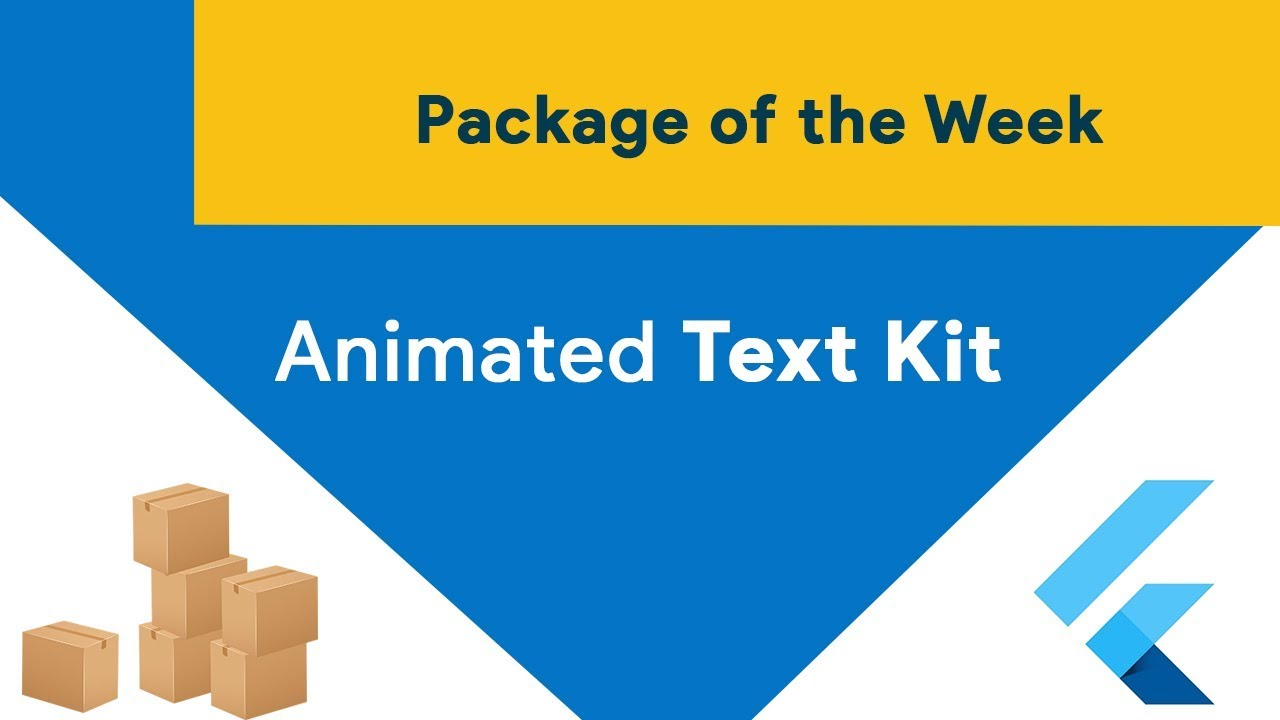 Animated Text Kit (Package of the Week)