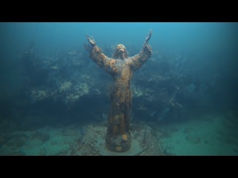 GoPro Hero 3 BE: John Pennekamp Coral Reef State Park Christ of the Abyss at Dry Rock Reef 1080p