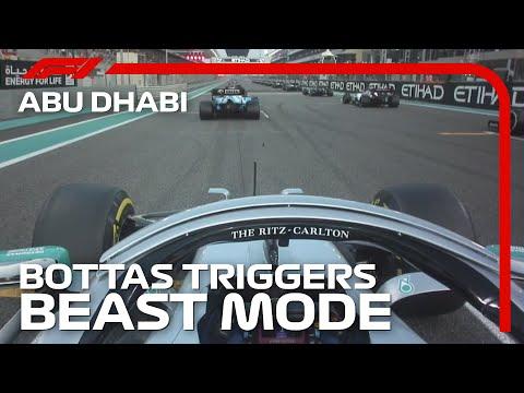 Bottas Triggers Beast Mode   2019 Abu Dhabi Grand Prix