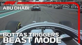 Bottas Triggers Beast Mode | 2019 Abu Dhabi Grand Prix