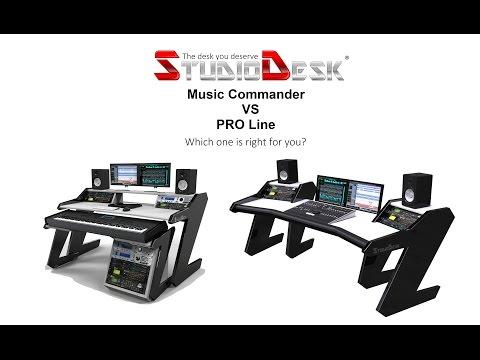 Studio Desk Music Commander VS Pro-Line