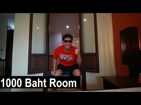 1000 BAHT ROOM - Poppa Palace Hotel Phuket Review - Cost of 7 Eleven Shopping