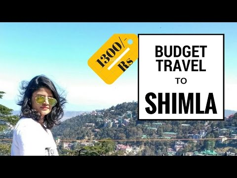 Budget travel to Shimla from Chandigarh || only 1300/- Rs