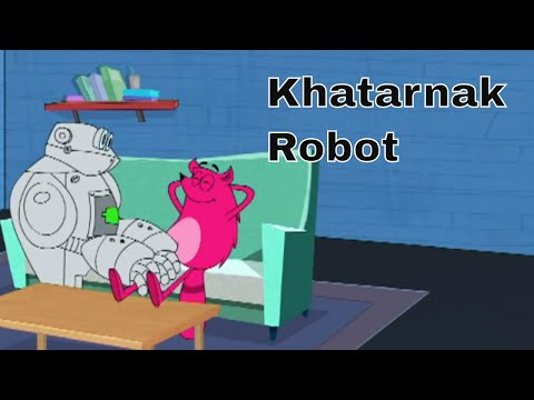Pyaar Mohabbat Happy Lucky - Ep.54 | Khatarnak Robot | Hindi Animated Cartoon Show | ZeeQ