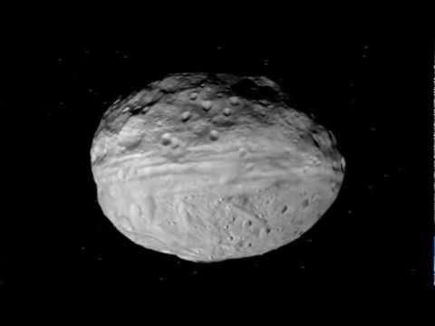 COOL VIDEO FROM THE ASTEROID BELT: Beautiful Flyover of the Giant Asteroid Vesta.