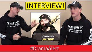 Logan Paul INTERVIEW! #DramaAlert ( Retiring from YouTube ) KSI  & More!