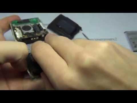 Sony Ericsson K800i Disassembly Energizerx2