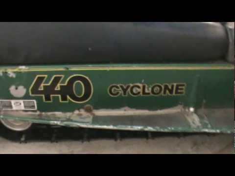 1976 John Deere Cyclone 440 - YouTube