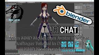 🇩🇪 VrChat Tutorial : Avatar selber erstellen Teil 1 anfänger Tutorial