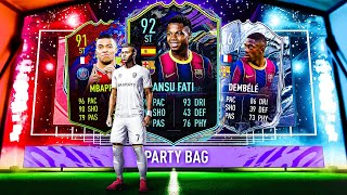 THIS IS WHAT I GOT IN 30x FUTURE STARS PARTY BAG PACKS! #FIFA21 ULTIMATE TEAM