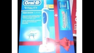 Электрическая зубная щетка Oral-B обзор, впечатления, плюсы и минусы