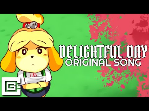 "ANIMAL CROSSING SONG ▶ ""Delightful Day"" (Animated Music Video) 