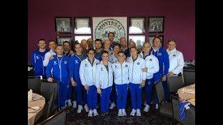 Montreal - Il Console Generale d'Italia incontra la delegazione azzurra