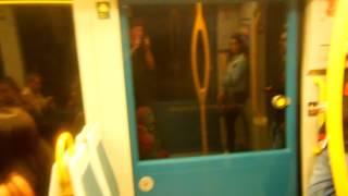 アキーラさん利用②ポルトガル・ポルト・メトロE線・ポルト空港行き!Metro-LineE bound for airport,Porto in Portgul