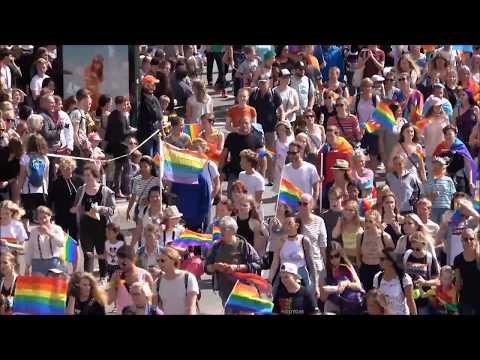 Pride Parade, Stockholm 20170805