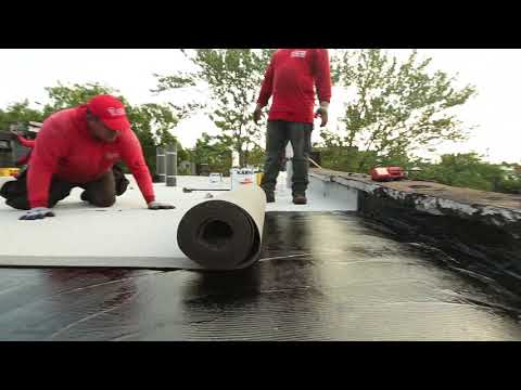The 5 Steps Of A Flat Roof Replacement.