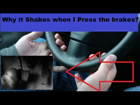 Why your car shakes when braking!!!!
