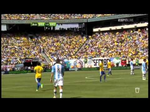 International Friendly - Argentina Vs Brazil June 9 2012