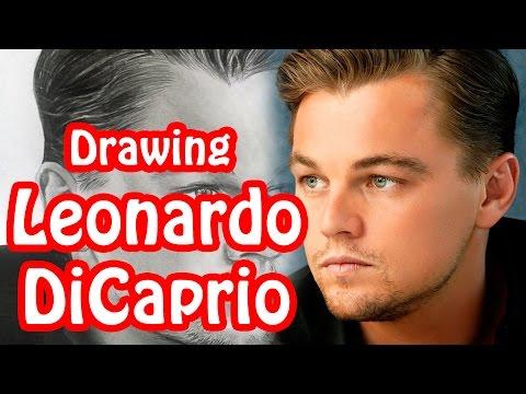 Drawing Leonardo DiCaprio