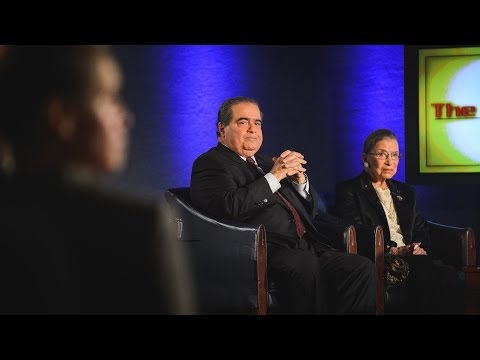 The Kalb Report - Ruth Bader Ginsberg & Antonin Scalia