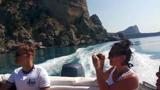 Эксклюзивная прогулка морю морском такси Новый Свет Крым 2017