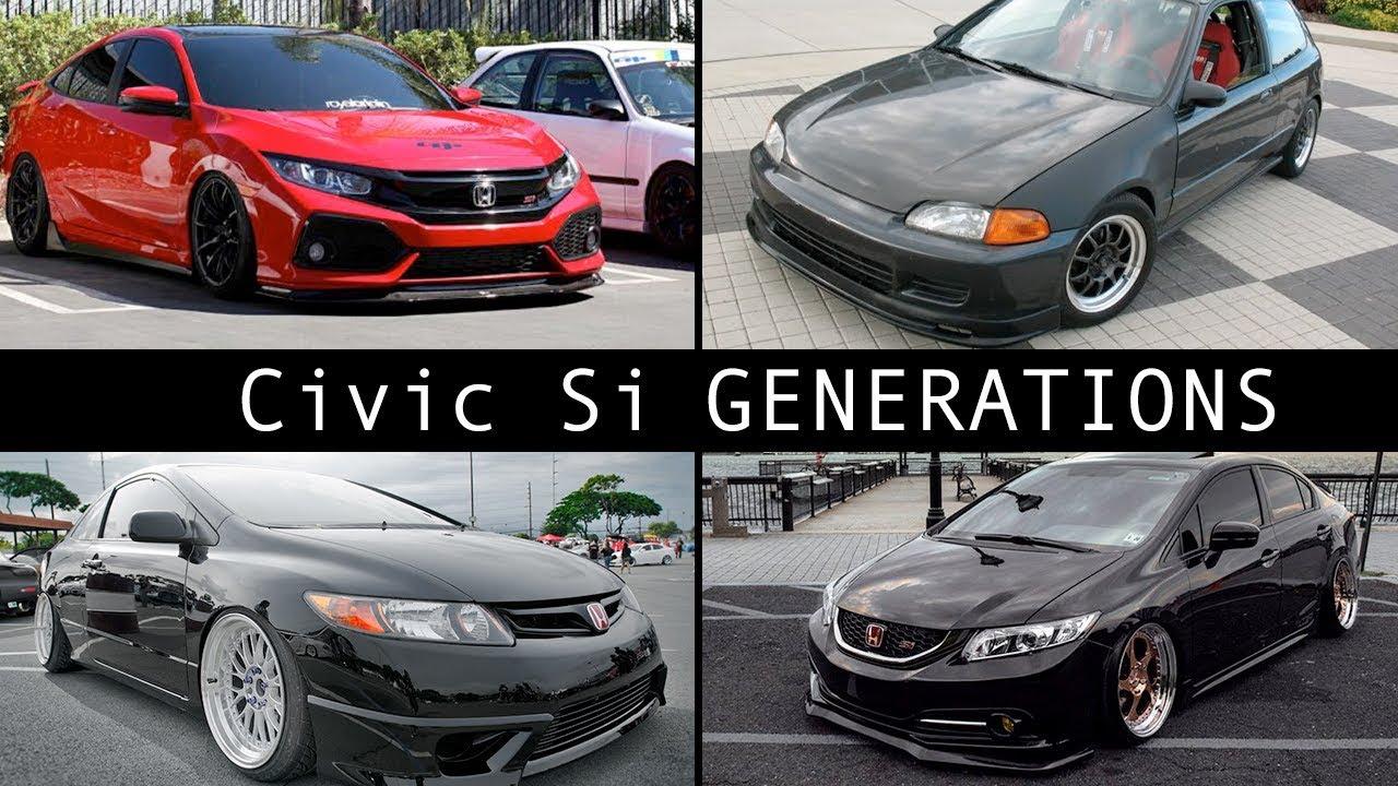 Honda Civic Generations >> What Is The Best Honda Civic Si Generation
