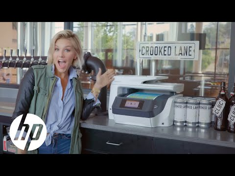 Meet the Intern: Charissa Thompson at Crooked Lane Brewing Company | HP OfficeJet Pro | HP