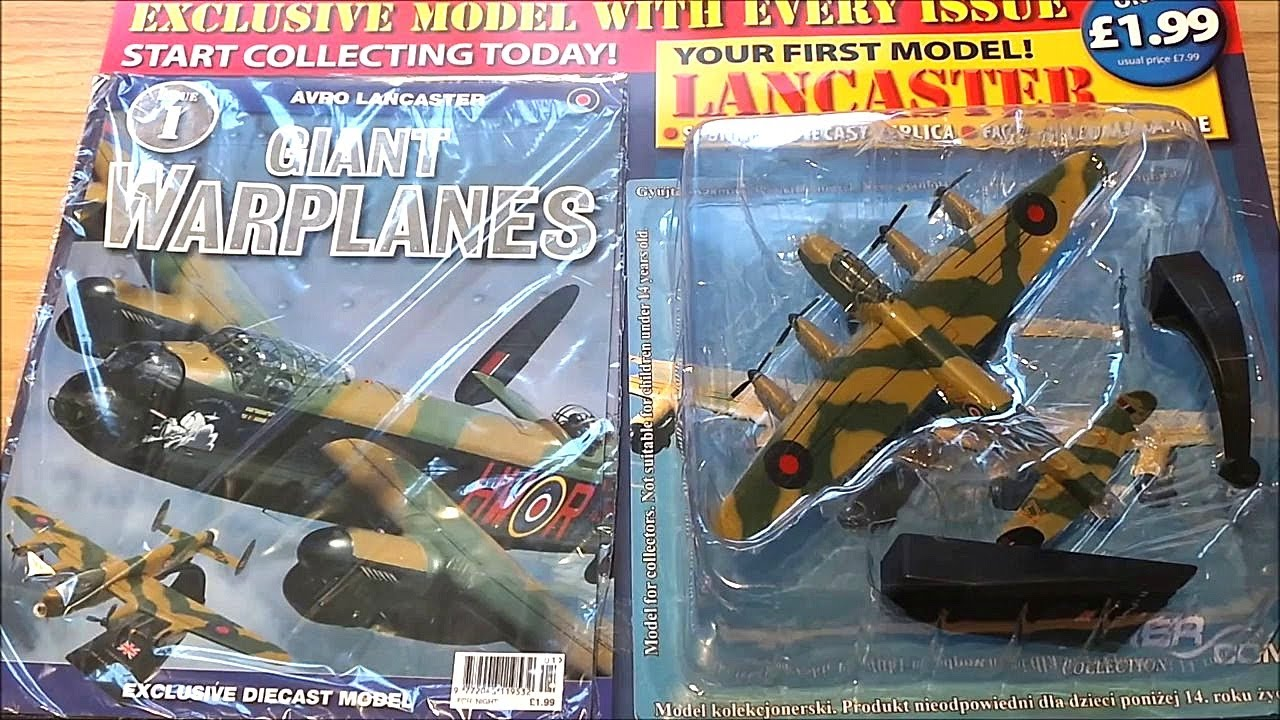 REVIEW OF ISSUE 1 OF GIANT WARPLANES MAGAZINE WITH FREE ...