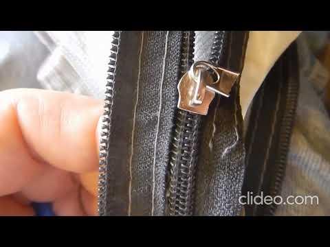 Camping Tent Zipper Repair- fixing the zipper