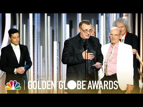 """Bohemian Rhapsody"" Wins Best Motion Picture, Drama - 2019 Golden Globes (Highlight)"