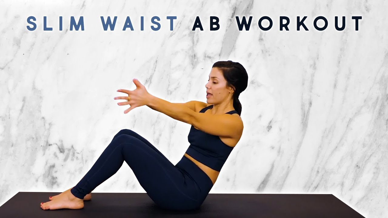 12 Min Belly Fat Blast with Eliz | Abs & Obliques Workout to Slim Your Waist