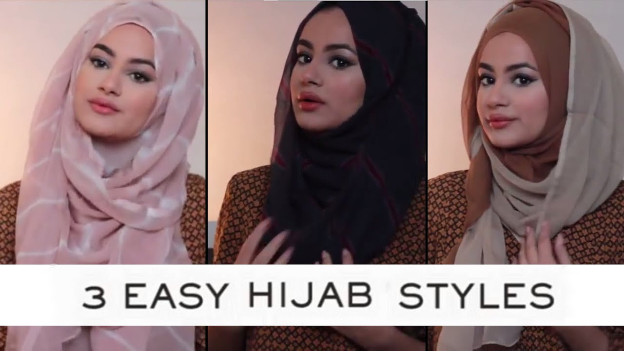Hijab Tutorial For 3 Easy Hijab Styles With Ruba Zai Hijab Hills