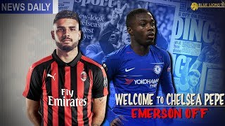 CHELSEA TO FIGHT FOR NICOLAS PEPE! || EMERSON & KOVACIC OFF? || Chelsea News