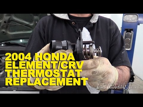 2004 Honda Element/CRV Thermostat Replacement