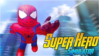 ROBLOX Adventure - SUPERHERO SIMULATOR IN ROBLOX!!!