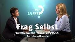"Livestream: ""Frag selbst"" mit Frauke Petry (AfD)"