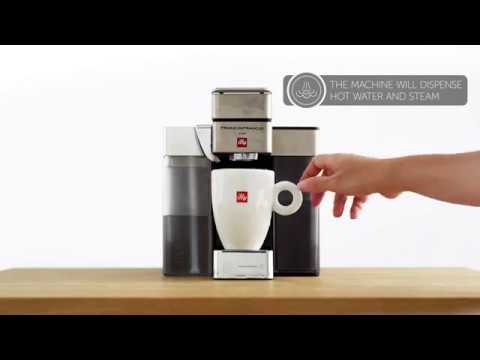Hands on Francis Francis for Illy Y5 Milk Espresso and Coffee Machine Black