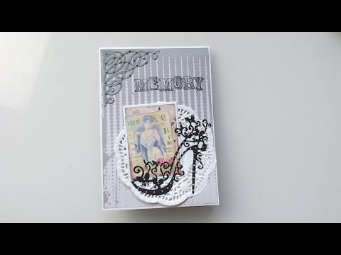 +++ Watch me Craft ++ Flipbook aus 4 Briefumschlägen  +++