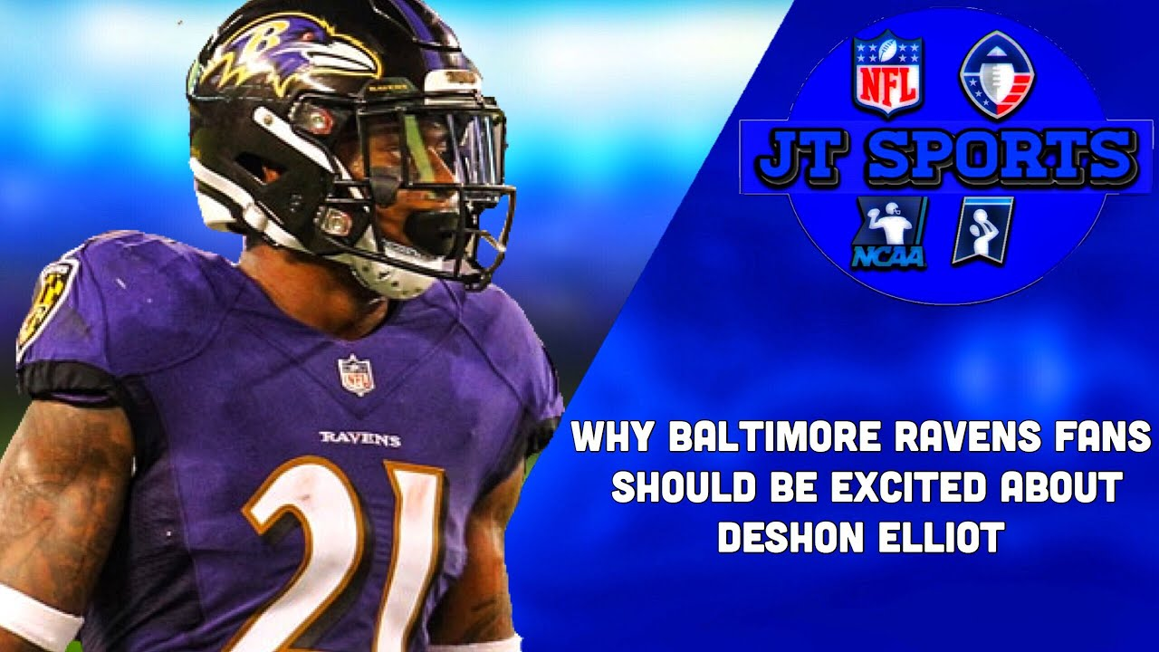 on sale 593fb 1b658 Why Baltimore Ravens Fans Should Be Excited About DeShon Elliot | NFL