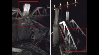 On cam: British era Kollidam bridge collapses, washed away in flooded Cauvery river