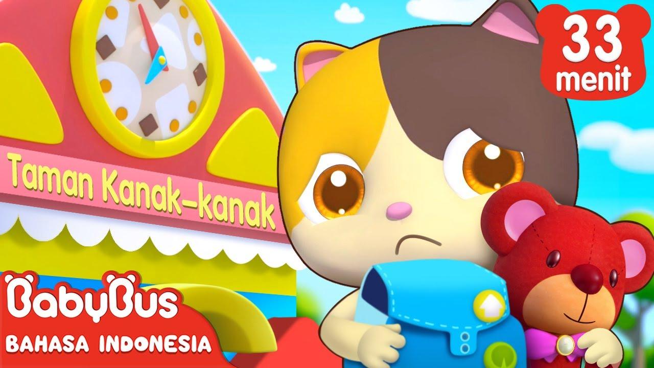 Pertama Kali Mimi Pergi Ke Sekolah | Lagu Anak | Kartun Anak Indonesia | BabyBus Bahasa Indonesia