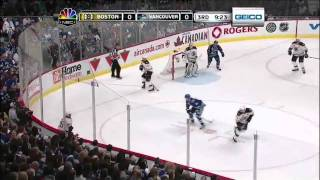 2011 Stanley Cup Finals - Vancouver Canucks vs Boston Bruins Game 1 Highlights 6/2/11